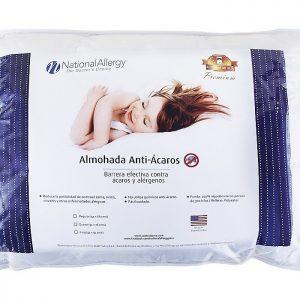 Almohada Premium anti acaros National Allergy