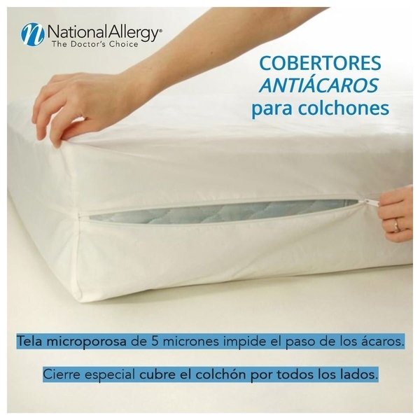 Efectividad cobertores de colchón National Allergy