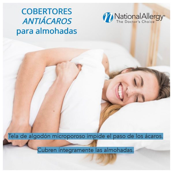 Beneficios cobertores de almohada National Allergy